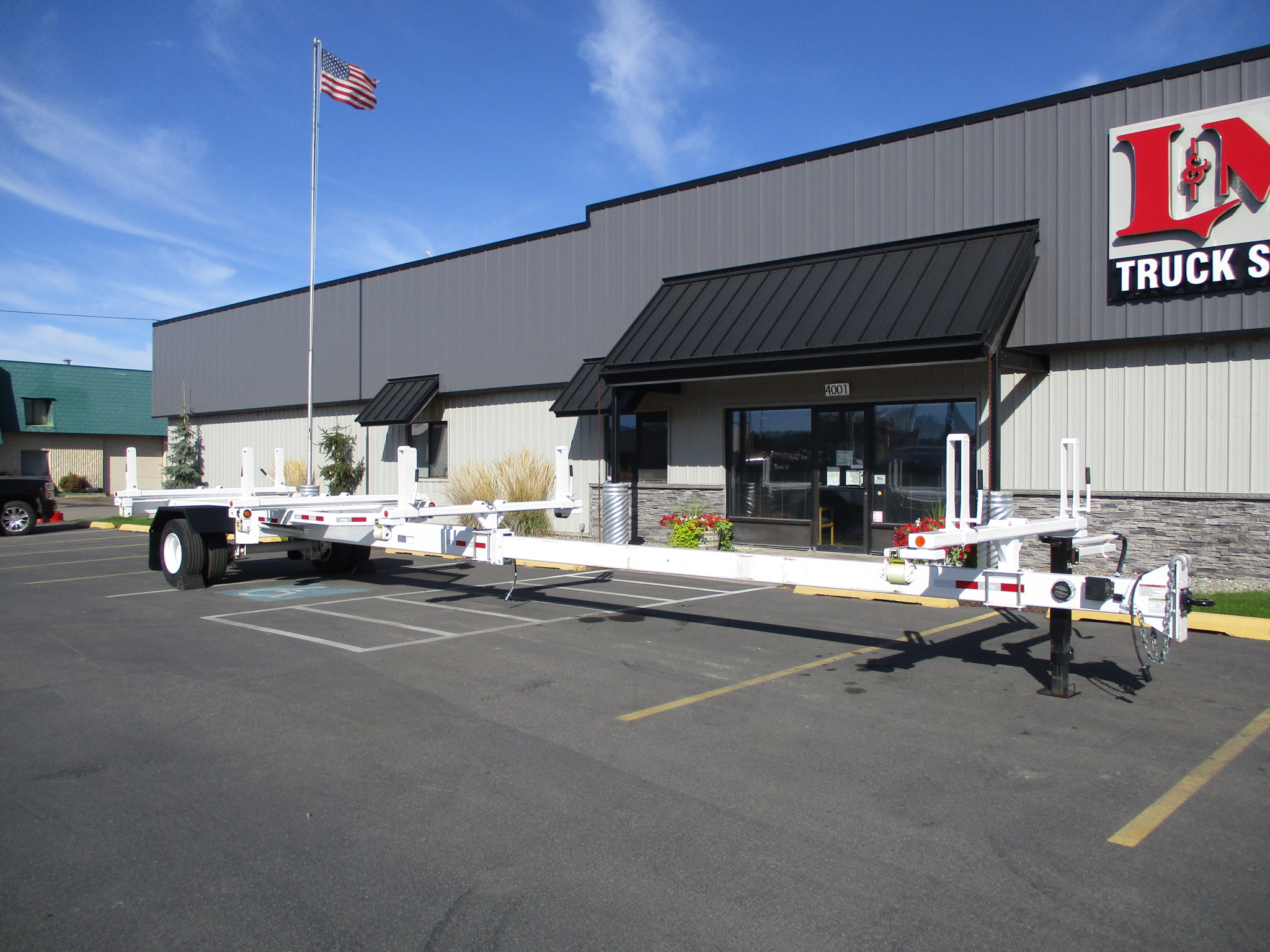 2019 LOAD KING POLE TRAILER 5935-EXTENDED
